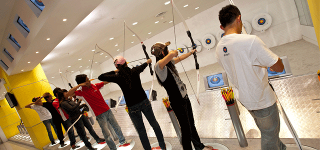 Stars Archery is the premier and largest indoor archery range operator in Malaysia. They own and operate indoor archery ranges in Sunway Pyramid, Berjaya Times Square, Mahkota Parade, Melaka, 1 Borneo Hypermall, Kota Kinabalu, Imago Mall KK Times Square, Kota Kinabalu, CityOne Megamall and Kuching. Their mission is to introduce and bring this fun and exciting sport to the young, and the young at heart. With their technical expertise and know-how in this field, they provide a challenging yet safe