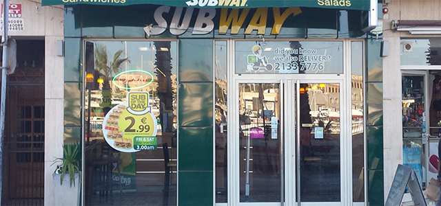 We at Subway Malta take pride in offering fast and friendly service together with fresh and healthy products. Operating in six restaurants across the island, we invite you to visit and experience our culinary indulgence at affordable prices. We also offer catering for parties.
