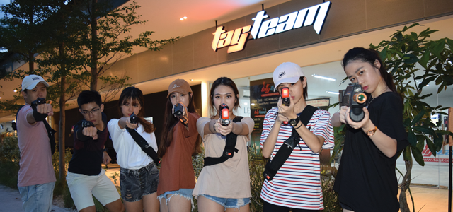 TAG TEAM features two indoor laser tag centres - Downtown East and East Coast Park (largest in Singapore). They launched the latest all-star team play with their laser series equipment where participants can have multi-weapon battles. Their mixed-reality gameplay allows you to battle against virtual ninjas. TAG TEAM offers corporate team building, birthday parties, school programmes and family activities amongst others.