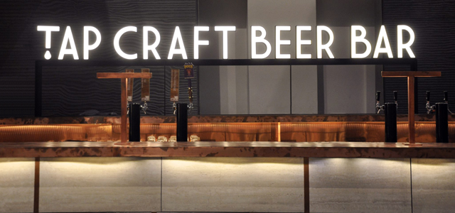 Inspired by American tap rooms, TAP Craft Beer Bar is one of the first concepts in Singapore to boast 20 craft beers on tap at any time and a selection of 80 different bottled varieties. Core breweries include Modern Times, Lost Coast and Strand, as well as other renowned International craft breweries. TAP Craft Beer Bar also offers tasting flights, beer floats and a curated food menu for an ideal pairing with its beers.