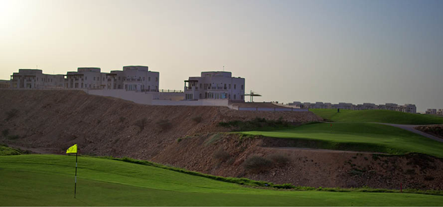 Muscat Hills is a five minute drive from Muscat Airport. It's Oman's first 18 hole golf course landscaped around the natural wadis and vegetation with spectacular views of the Al Hajar Mountains and the sea. The course is designed to suit all levels of golf ensuring a unique experience; testing playing skills and offering International standards. A state-of-the-art academy, driving range and practice areas are available with a fully stocked pro shop with hire clubs and a licensed food and bevera