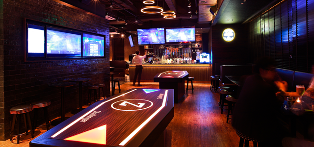 Are you up for the ultimate round of beer pong? Of course, you are! The spacious Zerve is your new favourite hang-out! Games galore are accompanied by fine wines, beers and liquors all ready and waiting for thirsty players.