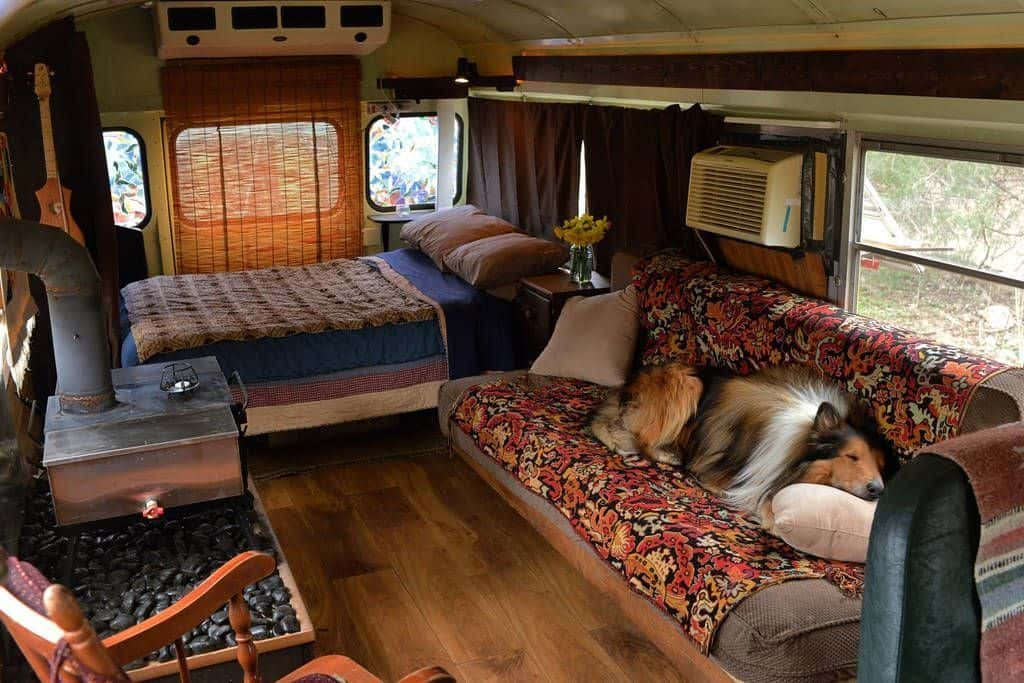 Marvelous 10 Short Bus Rv Conversions To Inspire Your Build Adventure Home Interior And Landscaping Oversignezvosmurscom