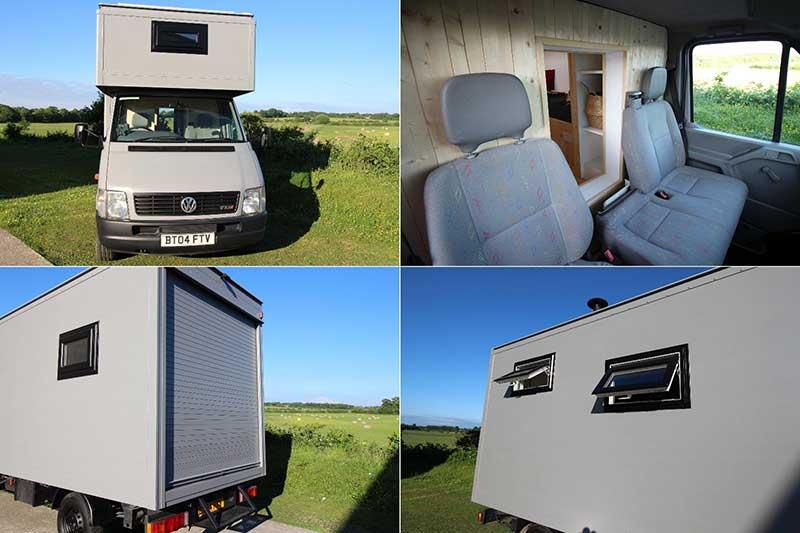 The Most Amazing Luton Box Van Camper Conversion We've Ever