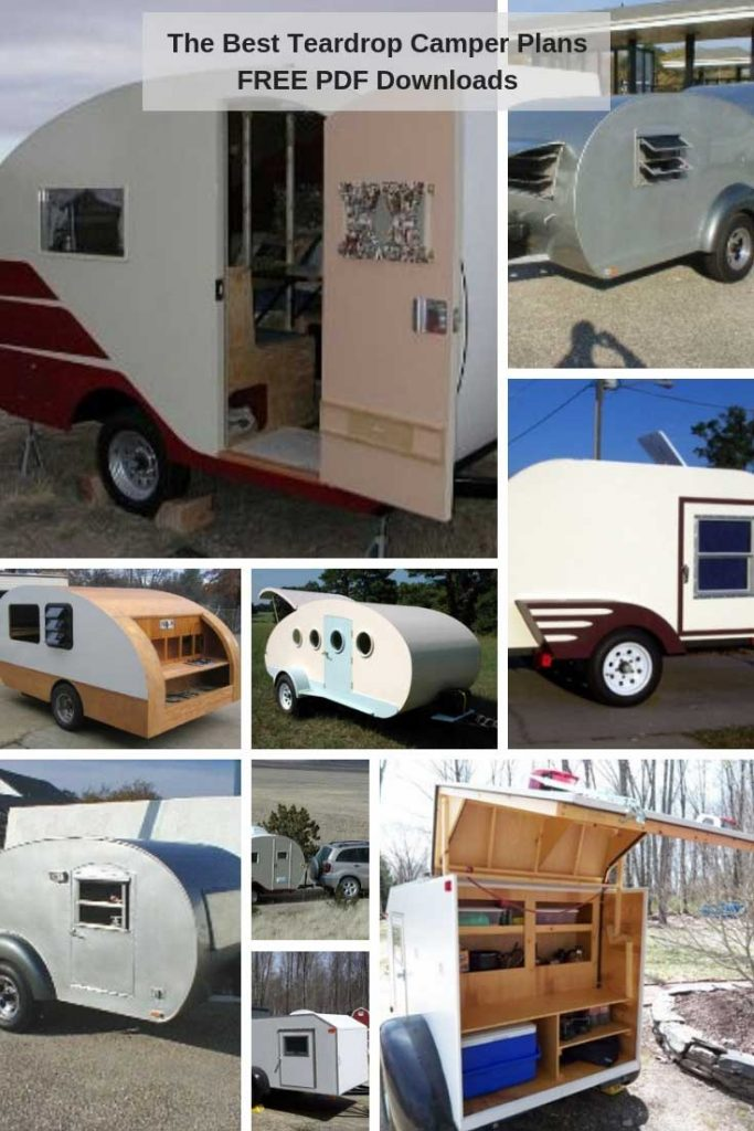 Free Teardrop Trailer Plans PDF Downloads