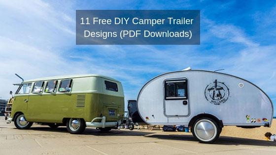 Teardrop Camper Plans – 11+ Free DIY Trailer Designs (PDF Downloads)