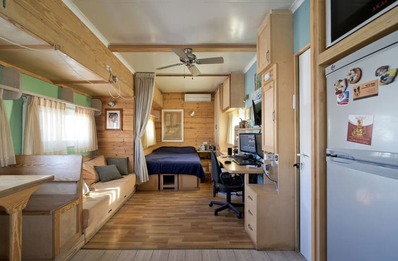 Semi Truck RV Conversion Interior
