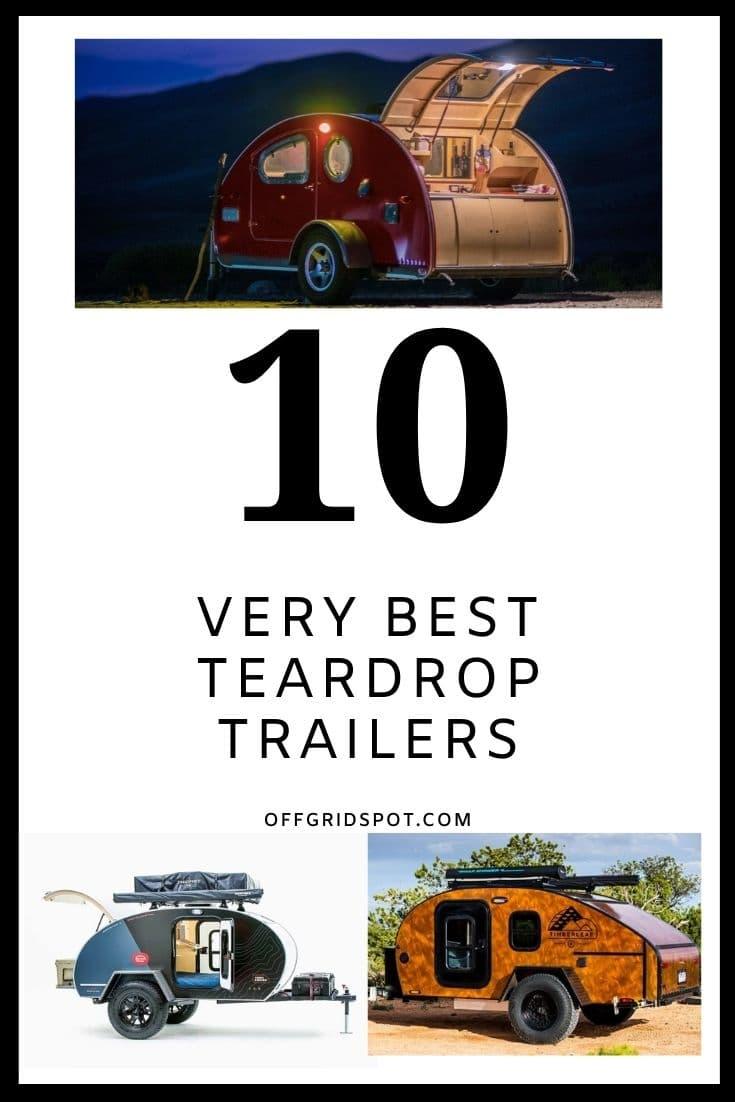 10 Best Teardrop Trailers Cover
