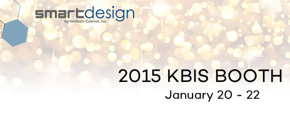 KBIS 2015 booth display Smart Design cabinetry
