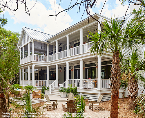 2017 Southern Living Idea House Curb View