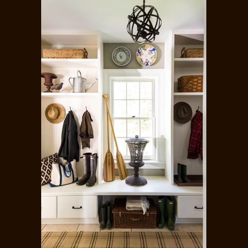 MUDROOM - HENLOW SQUARE MAPLE, GLACIER PEWTER