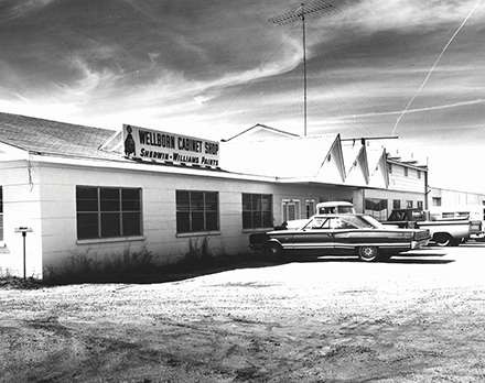 Photo of the Factory in Ashland in 1961
