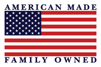 American Made and Family Owned Logo