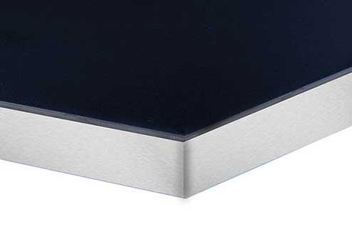Option 1 - Aluminum Finish Edge