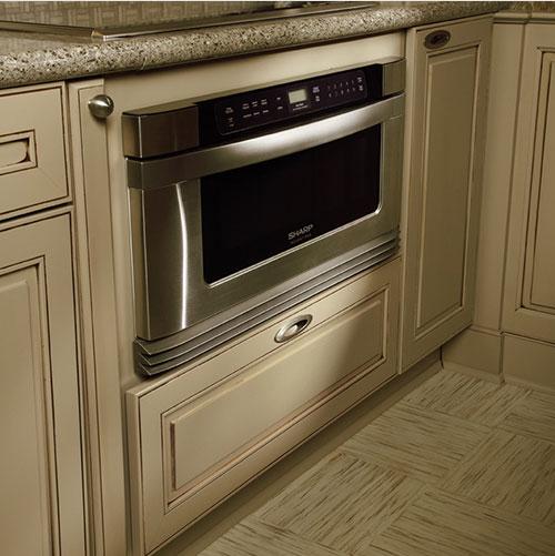 Appliance storage cabinet