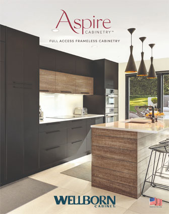 Contemporary Kitchen designed with Luxe Aspire laminate Frameless Full Access Cabinetry