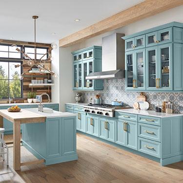 Estate solid wood dovetail drawer framed cabinets