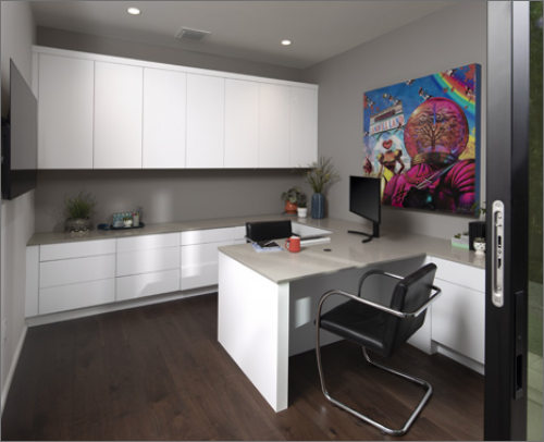 CABANA OFFICE<br> Midtown in Matte Super White