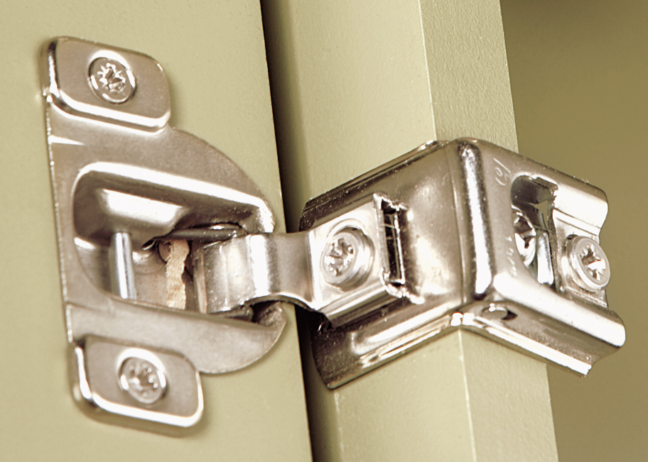 Photo of cabinet door concealed hinge