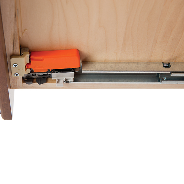 Soft Close Drawer Extension Hardware