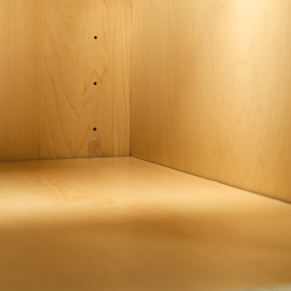 Wood Grain Laminate Plywood Back