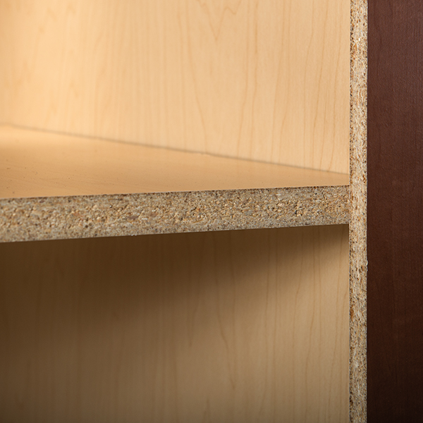 Wood Grain Laminate Furniture Board Shelves