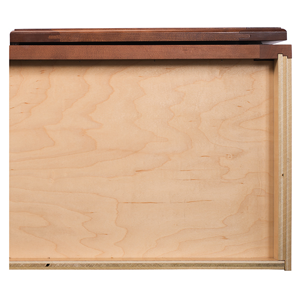 Wood Grain Laminated Furniture Board Bottom