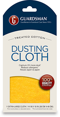Dusting Cloth Product Package