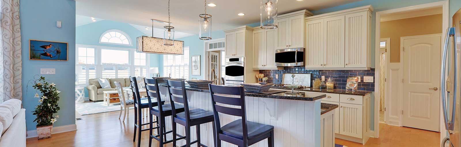 Kitchen scene featuring Aspire cabinets