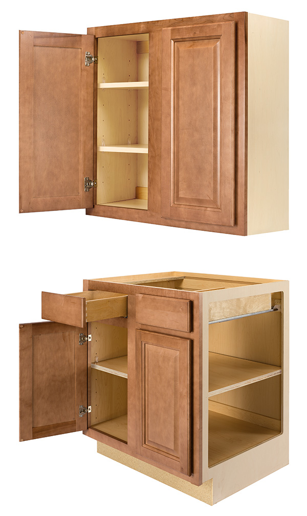 Home Concepts All Plywood Wall and Base Cabinet Construction information.