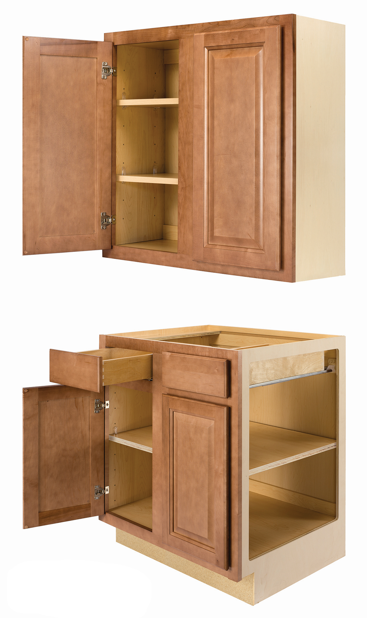 Home Concepts Standard Wall and Base Cabinet Construction information.