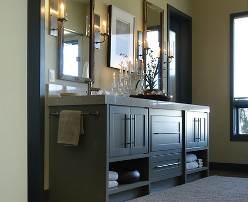MASTER BATH - HANOVER INSET MAPLE, SAGE