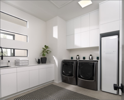 LAUNDRY ROOM<br> Midtown in Matte Super White