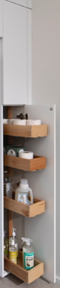 LAUNDRY ROOM<br> This utility with sliding shelves is the perfect touch for any laundry room.