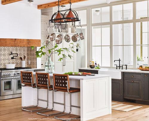 Light Gray Mist & Medium Gray kitchen cabinetry
