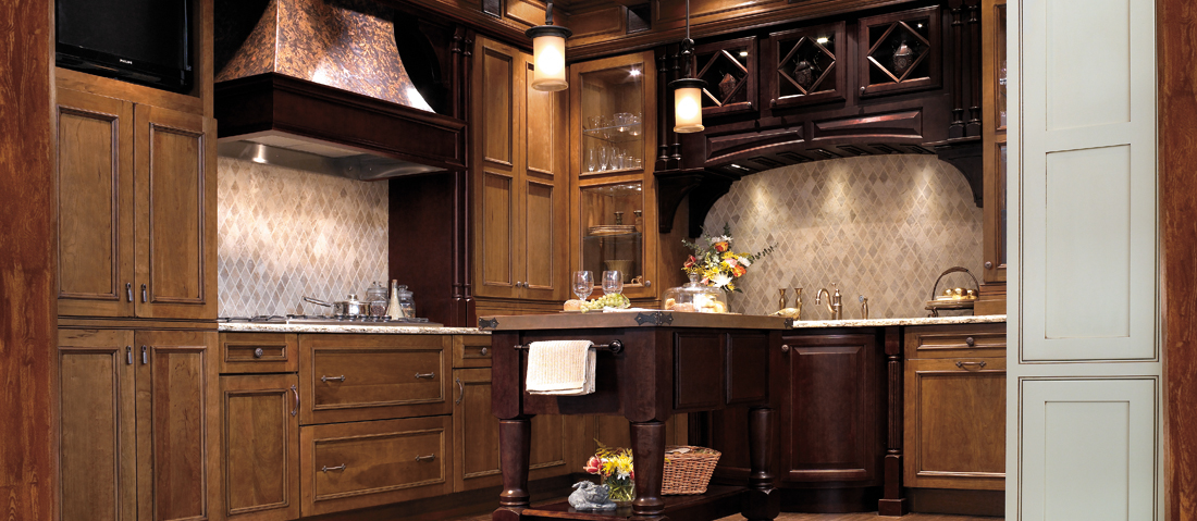 Beautifully crafted Wellborn Cabinet, Inc. kitchen