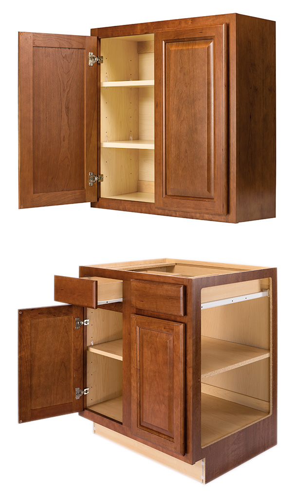 Standard Wall and Base Cabinet Construction information