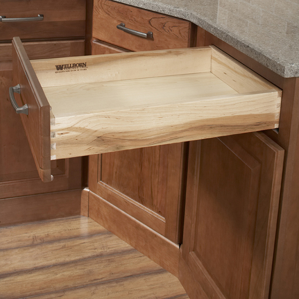 Solid Hardwood Full Extension Drawers