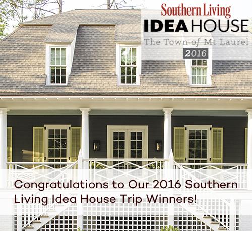 SOUTHERN LIVING IDEA HOUSE TRIP WINNERS