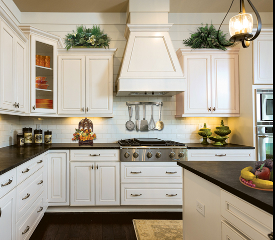 All-American Cottage - Southern Living Builder  - Kitchen Cabinetry
