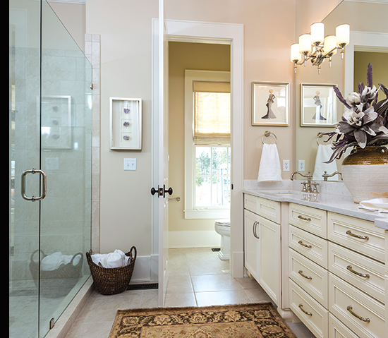 All-American Cottage - Southern Living Builder - Master Bathroom Vanity