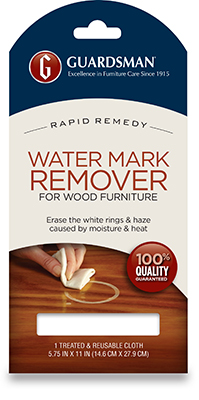 Water Mark Remover for Wood Cabinetry and Furniture Package