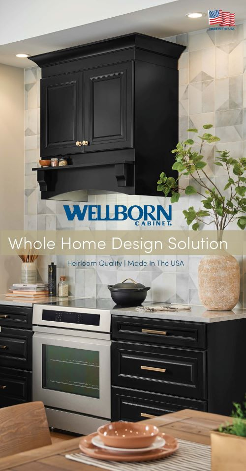 Single page tri-fold flyer that provides intro into our product lines White Southern Living Idea home on cover