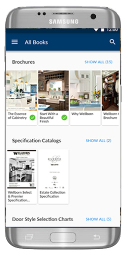 Iphone, Android Kitchen Bath Cabinet Apps | Wellborn Cabinet
