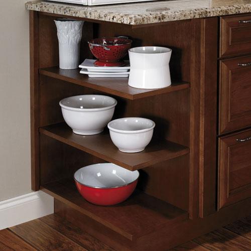 Corner storage cabinet kitchen