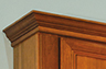 Crown Moulding on Medicine Cabinet
