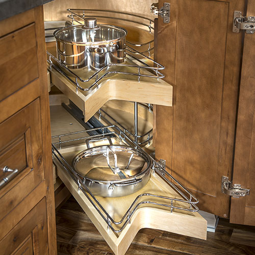 Wire pull out drawers
