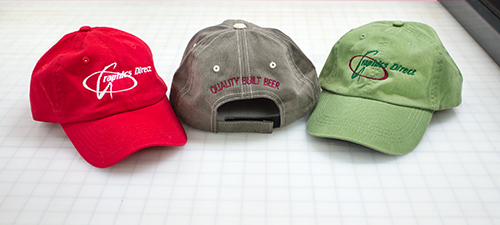 Graphics Direct and Port Huron Brewing Company: Baseball Caps