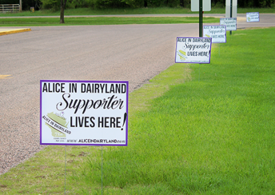 Alice in Dairyland: Site Signs