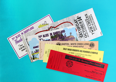 Various Customers: Tickets